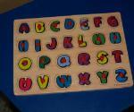 Tabla cu matrice pentru litere