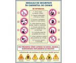Regulile tehnicii de securitate în cabinetul de chimie